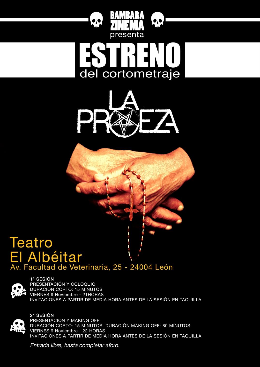 Cartel-Estreno-Proeza
